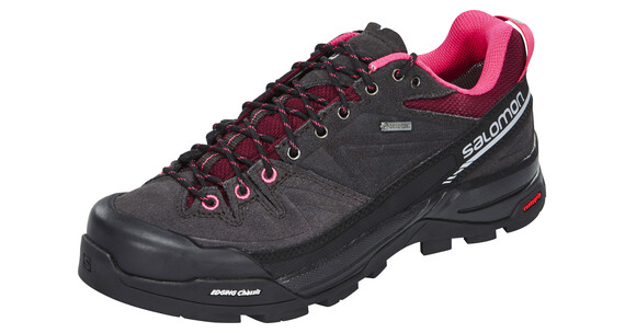 Salomon X Alp LTR GTX Hiking Boots Women asphalt/bord/hot pink